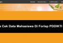 Cara melihat data mahasiswa di laman PDDIKTI (forlap)
