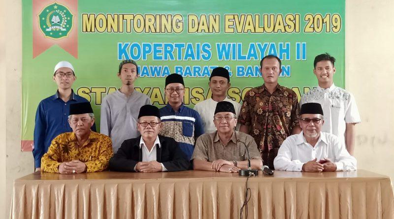 Monitoring dan Evaluasi Kopertais II Jawa Barat dan Banten Tahun 2019