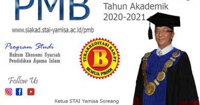 STAI Yamisa Soreang Kembali Menerima Mahasiswa Baru Tahun Akademik 2020-2021