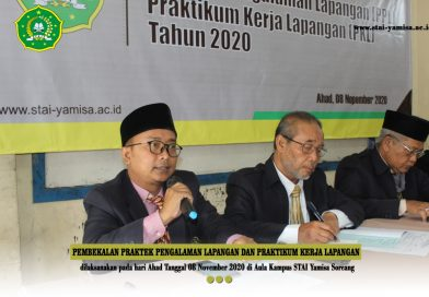 Pembekalan PPL dan PKL Tahun Akademik 2020/2021